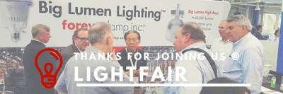 Foreverlamp Debuts 1000W at Lightfair International