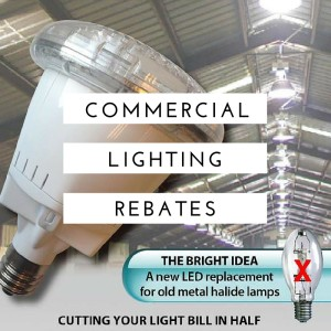 Need some financial assistance or rebates for your lighting project?