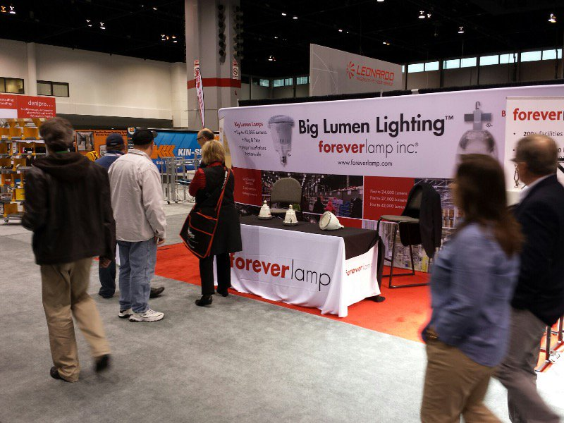 Foreverlamp to exhibit at ProMat 2017 in Chicago