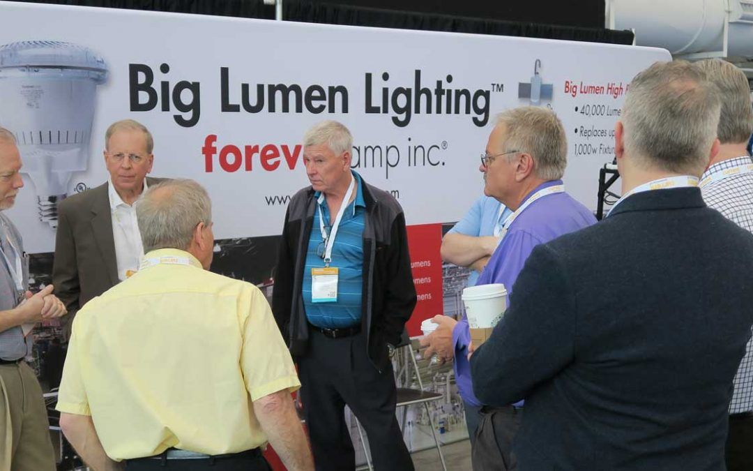 Lightfair 2017 – Foreverlamp Exhibiting Booth # 5155